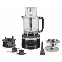 See Details - 13-Cup Food Processor - Black Matte