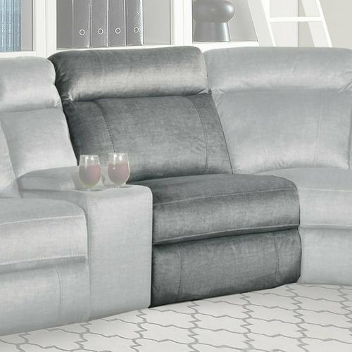 Parker House - PARTHENON - TITANIUM Armless Chair