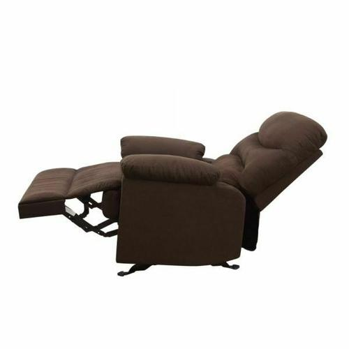 ACME Arcadia Recliner - 00632 - Chocolate Microfiber