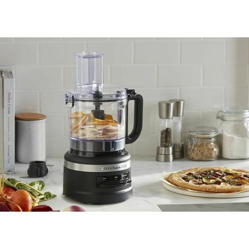 KitchenAid - 7 Cup Food Processor - Black Matte