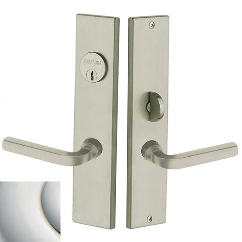 Polished Nickel with Lifetime Finish Atlanta Escutcheon Entrance Set