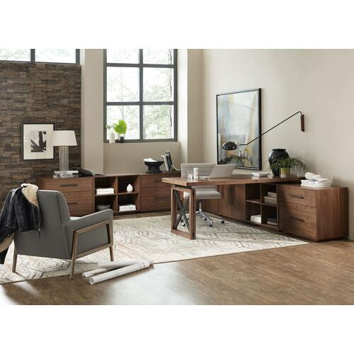 Home Office Elon 74in Desk Top