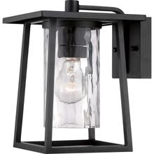 View Product - Lodge Outdoor Lantern in Mystic Black