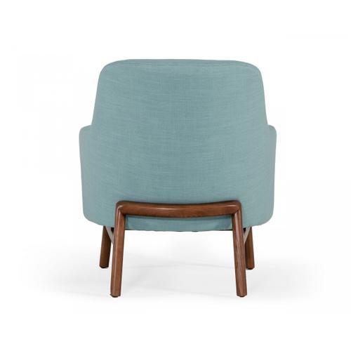 Gallery - Modrest Metzler - Modern Mint Green Fabric Accent Chair
