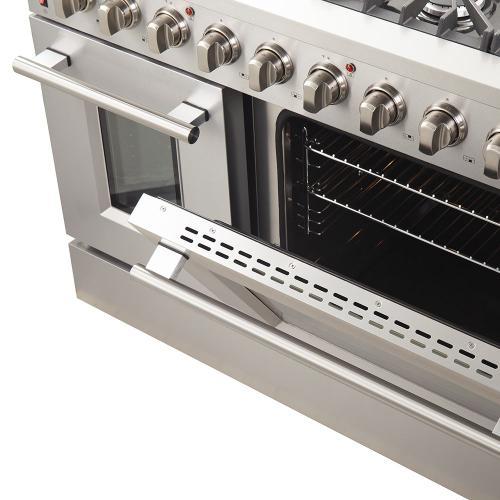 "GALIANO - Gold Professional 48"" Freestanding Gas Range"