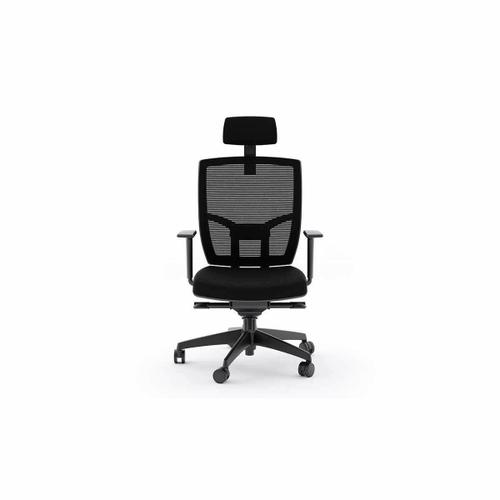 Tc 223dhf Office Chair Fabric Seat in Black