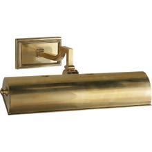 Alexa Hampton Dean 40 watt 14 inch Natural Brass Picture Light Wall Light