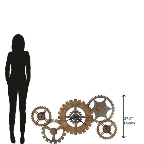 Howard Miller Cogwheel III Oversized Wall Clock 625727