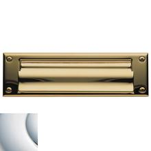View Product - Polished Chrome Letter Box Plates