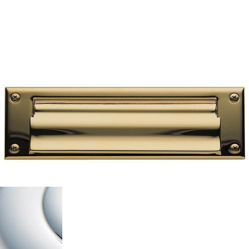 Baldwin - Polished Chrome Letter Box Plates