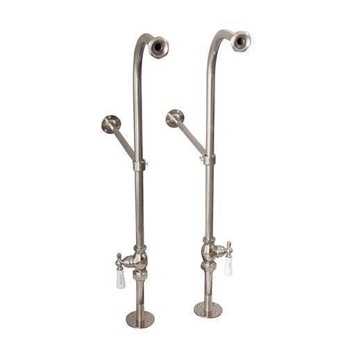 Freestanding Tub Supplies - Polished Nickel