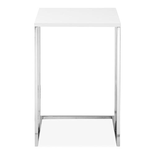 Posta Accent Table White
