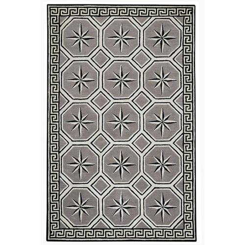 Compass Key Storm Hand Tufted Rugs