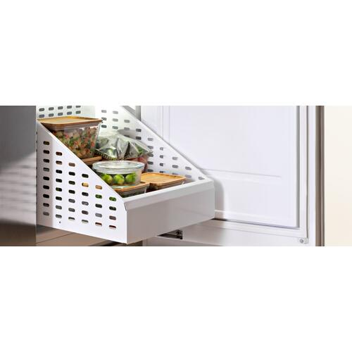 "18"" Built-in Freezer Column Stainless Steel Stainless Steel"