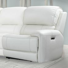 EMPIRE - VERONA IVORY Power Right Arm Facing Recliner