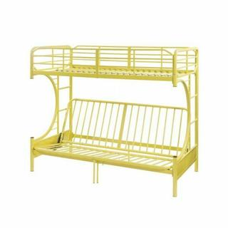 ACME Eclipse Twin/Full/Futon Bunk Bed - 02081YL - Yellow