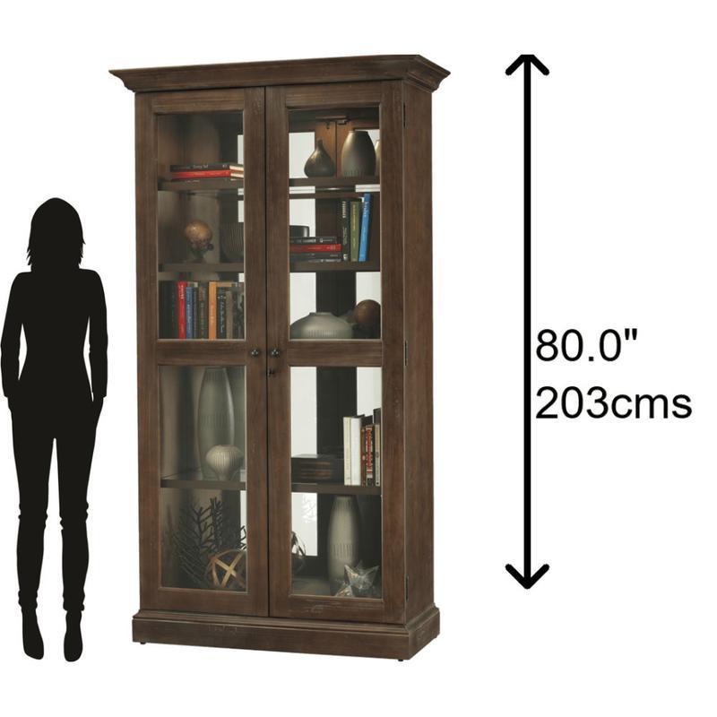 Howard Miller Lennon Curio Cabinet 670005