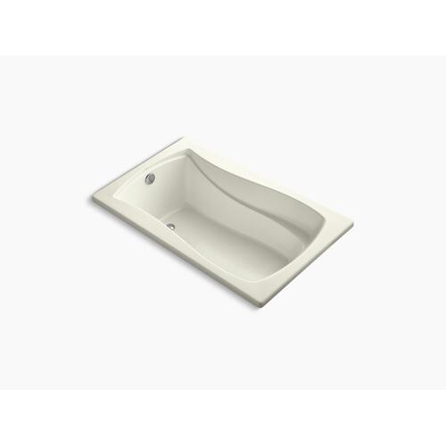 """Biscuit 60"""" X 36"""" Drop-in Bath With Reversible Drain"""