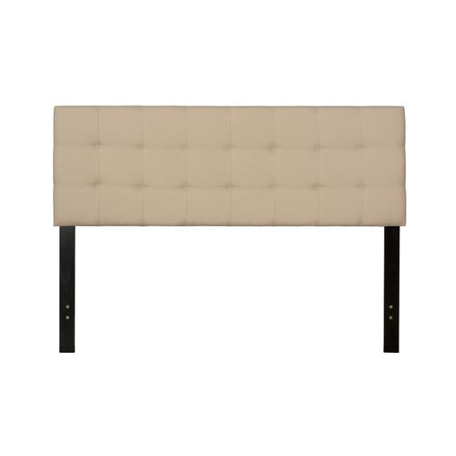 Delaney Full/queen Upholstered Headboard With Frame, Linen