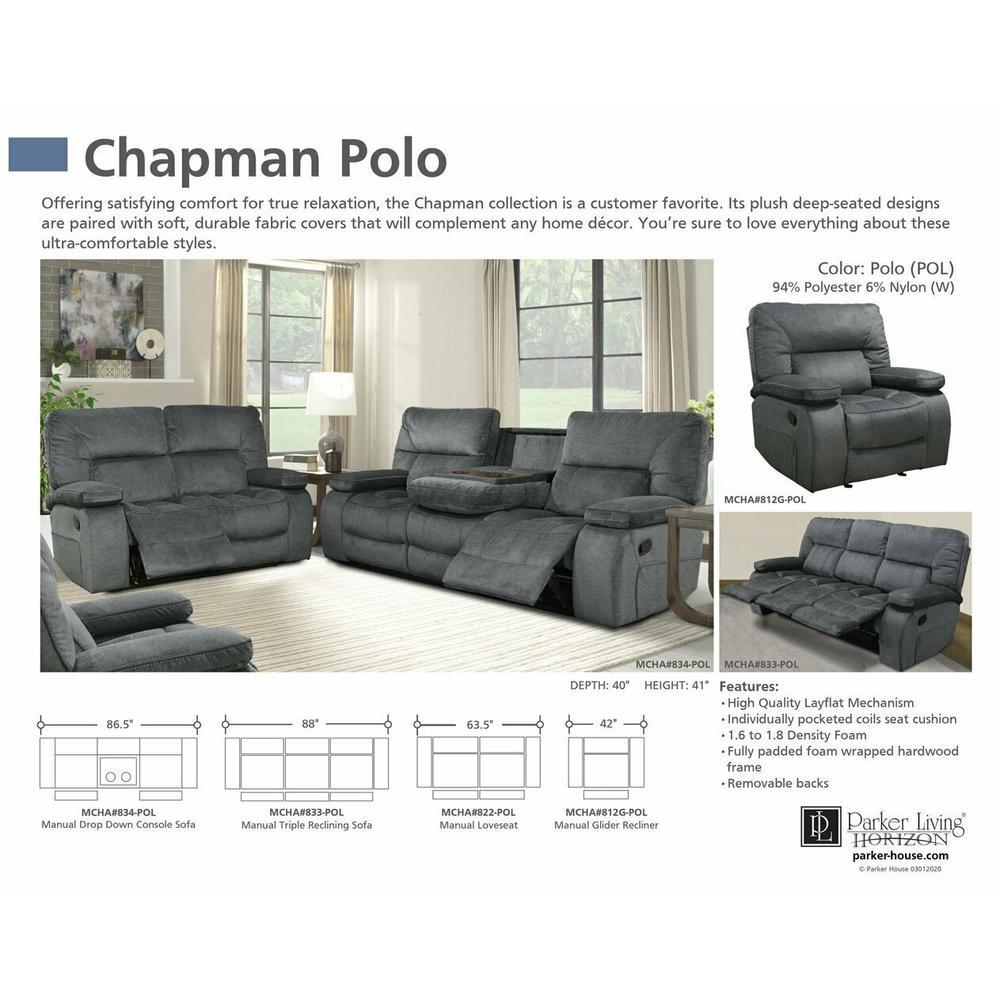 CHAPMAN - POLO Manual Drop Down Console Sofa