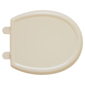 Cadet 3 Slow Close Round Front Toilet Seat with EverClean - Bone
