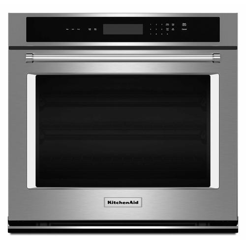 """Gallery - 27"""" Single Wall Oven® with Even-Heat™ Thermal Bake/Broil - Stainless Steel"""