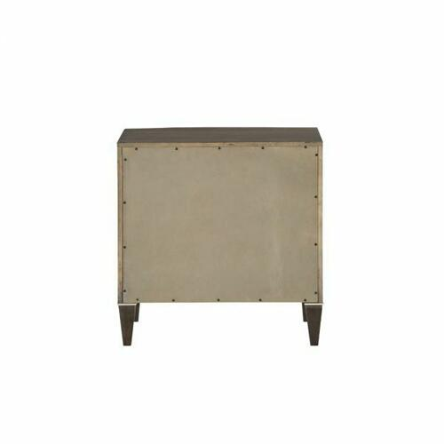 ACME Peregrine Nightstand - 27993 - Walnut