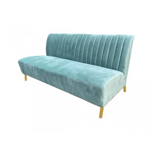 VIG Furniture - Divani Casa Mosko - Modern Light Green & Gold Fabric Sofa