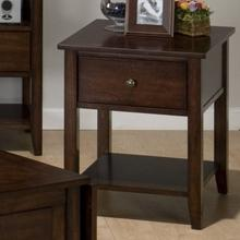 View Product - End Table W/ Drawer and Shelf