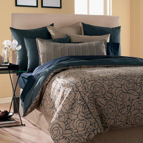 King Slipcovered Headboard Bella Sand (Base and Cover Included)