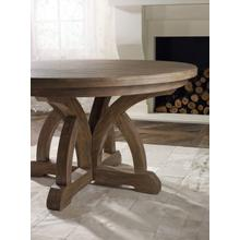 View Product - Corsica Round Dining Table w/1-18in Leaf