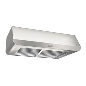 Broan® Elite 36-Inch Under-Cabinet Range Hood w/ Light, Stainless Steel