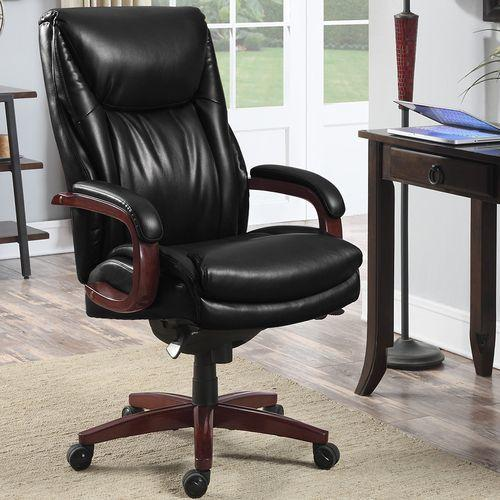 Edmonton Big & Tall Executive Office Chair, Black