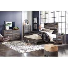 Drystan - Queen Bedroom - Queen Storage Bed, Dresser, Mirror