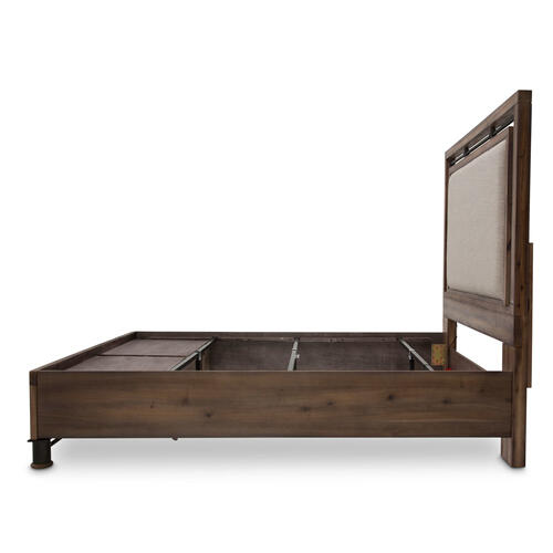 Cal King Panel Bed W/ Drawers