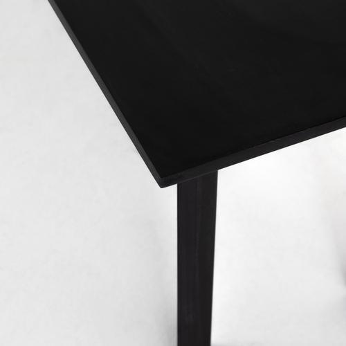 Axel Dining Bench-black Wash Poplar