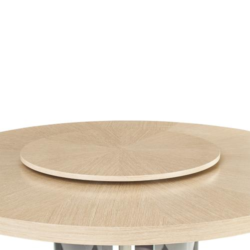 Round Dining Table W/lazy Susan (3 Pc)