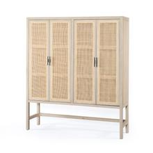 Natural Mango Finish Caprice Cabinet
