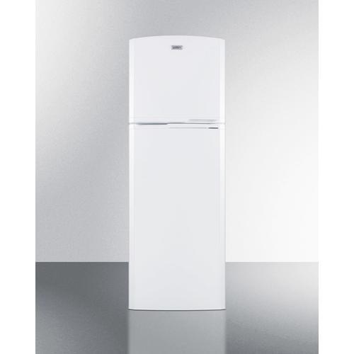 "Summit - 22"" Wide Top Mount Refrigerator-freezer With Icemaker"