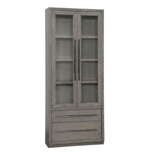 PURE MODERN 36 in. Glass Door Cabinet