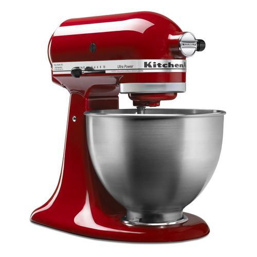 Gallery - Ultra Power® Series 4.5-Quart Tilt-Head Stand Mixer Empire Red