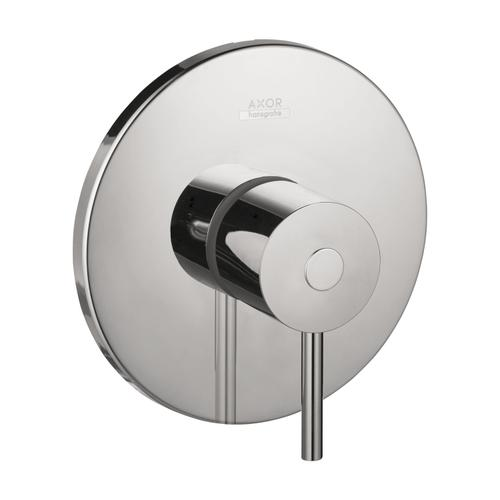Chrome Shower mixer for concealed installation with lever handle
