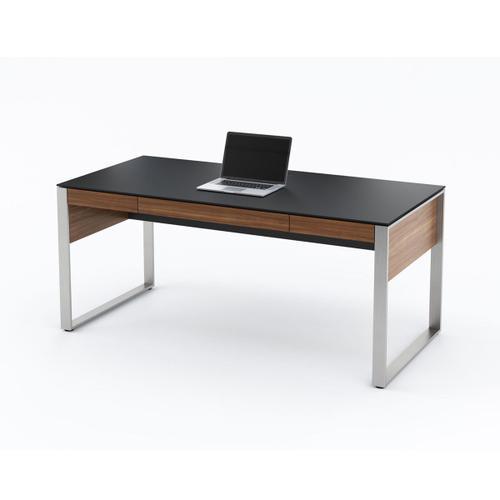Executive Desk 6021 in Natural Walnut