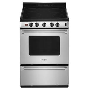 24-inch Freestanding Electric Range with Upswept SpillGuard™ Cooktop Product Image