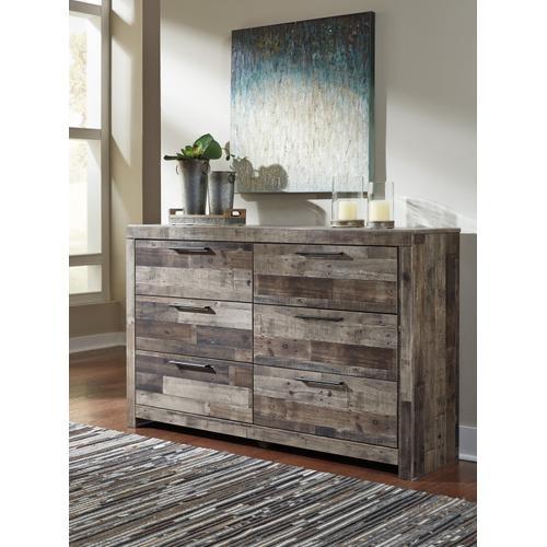 Derekson Dresser Multi Gray