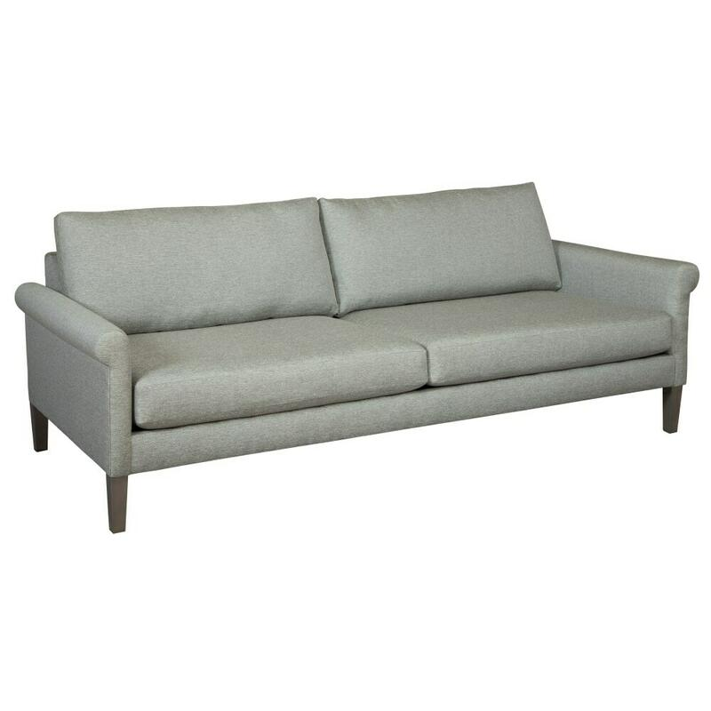 "174285 Metro 85"" Rolled Arm Sofa"