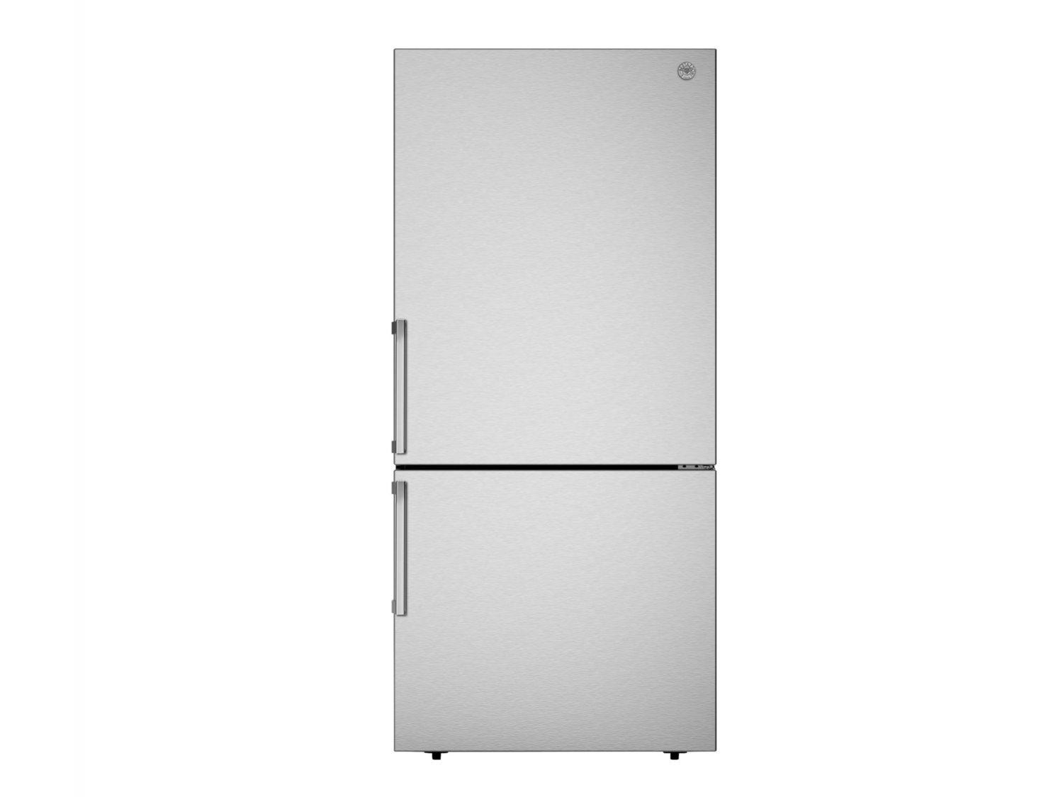 Bertazzoni31 Inch Freestanding Bottom Mount Refrigerator Stainless Steel