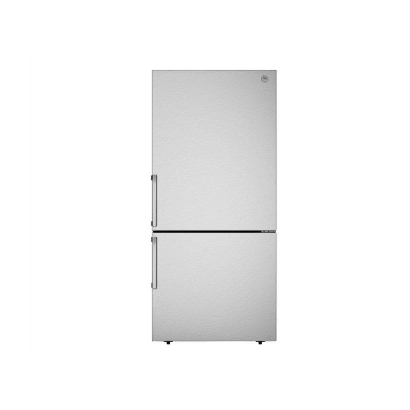 31 inch Freestanding Bottom Mount Refrigerator Stainless Steel