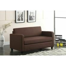 ACME Conall Adjustable Sofa - 57085 - Chocolate Fabric