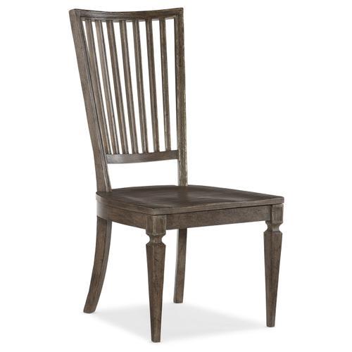 Hooker Furniture - Woodlands Wood Back Side Chair - 2 per carton/price ea